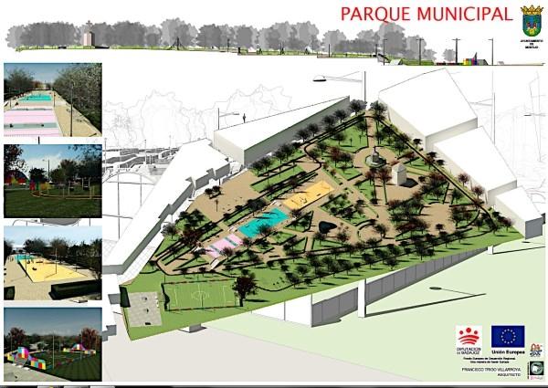 La Diputación de Badajoz avanza en la ejecución de las Estrategias de Desarrollo Urbano Sostenible (EDUSI) en Montijo-Puebla de la Calzada