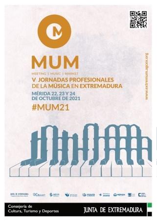 Mérida acogerá las V Jornadas Profesionales de la Música