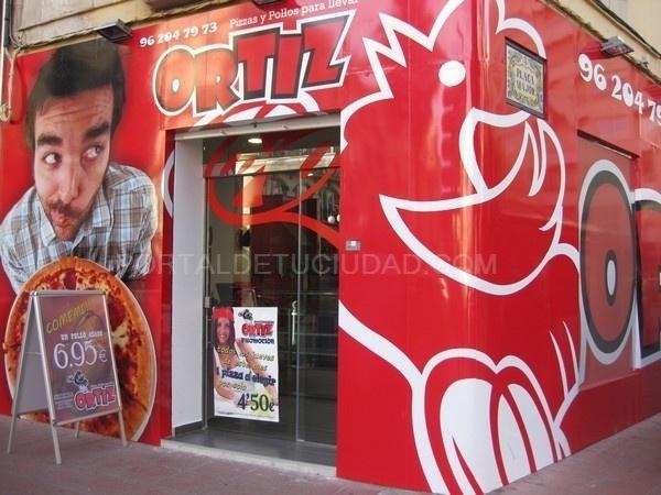 Pizzas y Pollos para llevar Alzira Ortiz