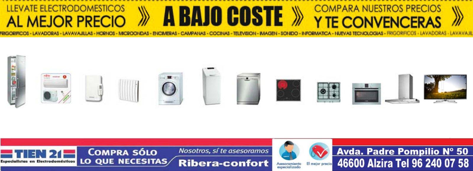 Ribera-Confort - Electrodomesticos Alzira, Moviles