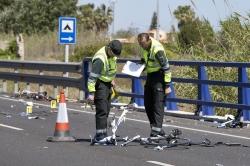 Dos ciclistas muertos y tres heridos graves al ser arrollados por una conductora ebria