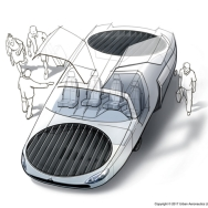 Así es CityHawk, el coche volador que llegará a las ciudades en 2022