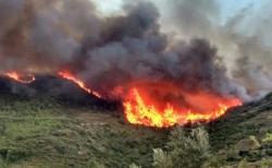 El incendio de la Calderona ya ha arrasado 267 hectáreas del Parque Natural