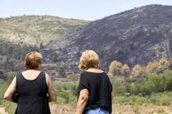 El incendio se estabiliza y los vecinos comienzan a volver a sus casas