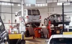 El coche de un cargo de Compromís, al taller del parque móvil de la Diputación