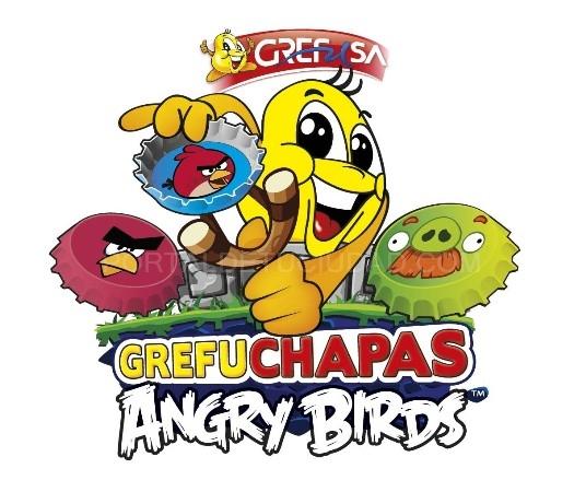 Grefuchapas Angry Birds El Fenomeno Del Momento En La Promo Mas Canera