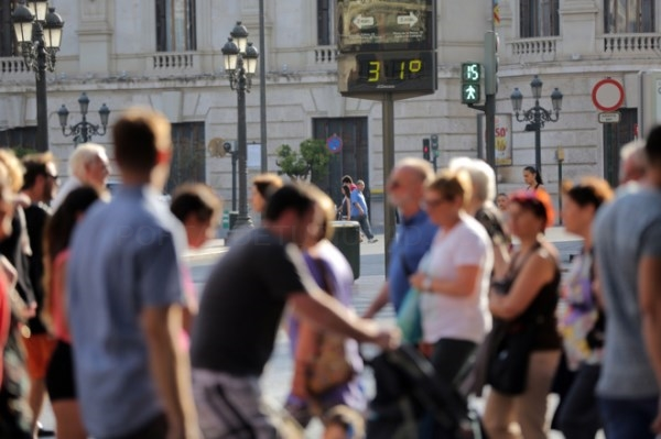 El calor supera todos los récords en Valencia