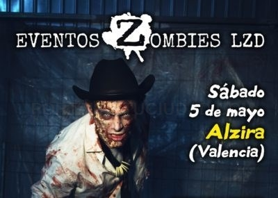 Más de 500 zombies invadirán Alzira y Cullera este sábado