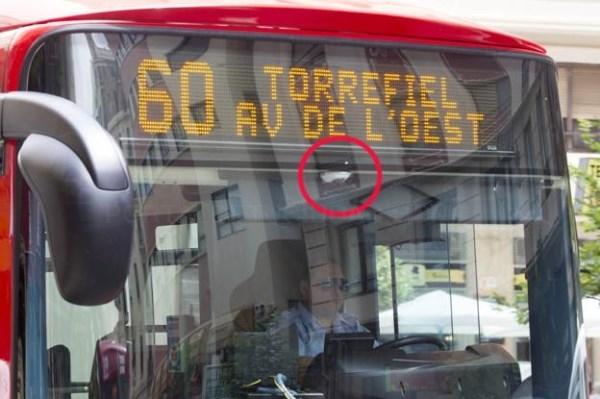 Autobuses de la EMT llevarán cámaras para poder multar en el carril bus