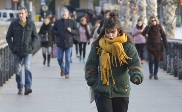 Una ola de frío de Groenlandia bajará las temperaturas hasta 10 grados