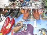 tintes para calzado,  cordones de calzado,  tenido de calzados, productos para calzado