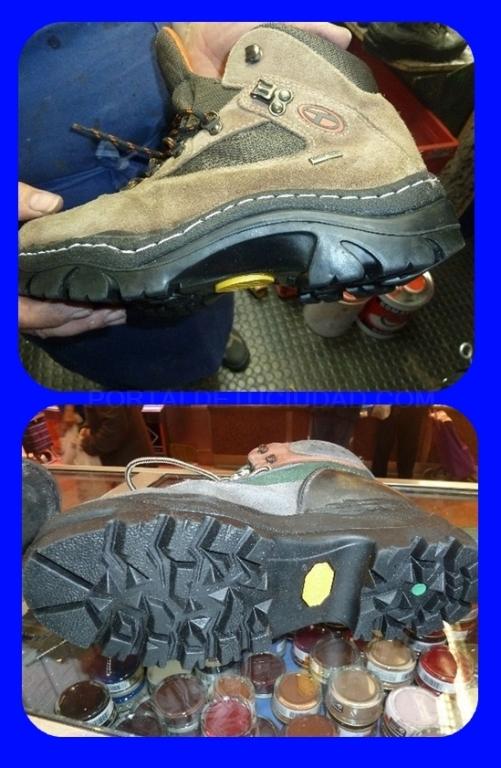 Cambio de suela de botas en Zarzaquemada