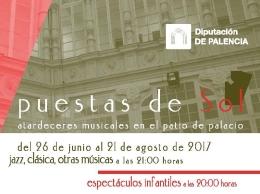 ATARDECERES MUSICALES EN EL PATIO DEL PALACIO - 2017