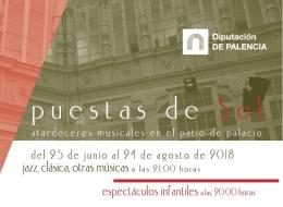 Puestas de sol 2018 Palencia