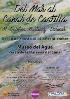 """Exposición de pintura """"Del Mar al Canal de Castilla"""", de Maria Dolores Martinez"""