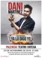 YA LO DIGO YO. Dani Martínez