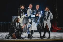 """Teatro: """"Crimen y telón"""".Ron Lalá."""