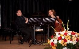 """Concierto de clarinete y violonchelo a cargo del dúo """"Santor-Gilort"""""""