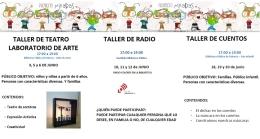 Proyecto Miradas. Talleres para niños a partir de los 6 años.