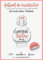 """Contiene Teatro"" por La Kimera Teatro."