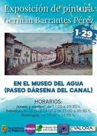 Exposición de pintura de Germán Barrantes Pérez