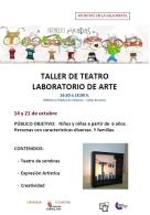 PROYECTO MIRADAS: TALLER DE TEATRO Y LABORATORIO DE ARTE
