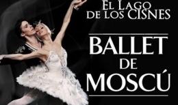 Ballet de Moscu. El lago de los cisnes.