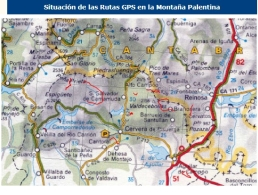 RUTAS GPS POR LA PROVINCIA DE PALENCIA