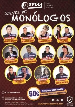 Jueves de Monólogos en Palencia