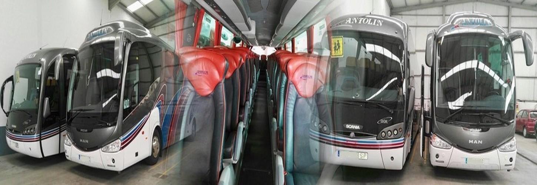 transportes antolin, autobuses en palencia