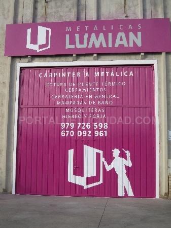 Metálicas Lumian, lumian palencia