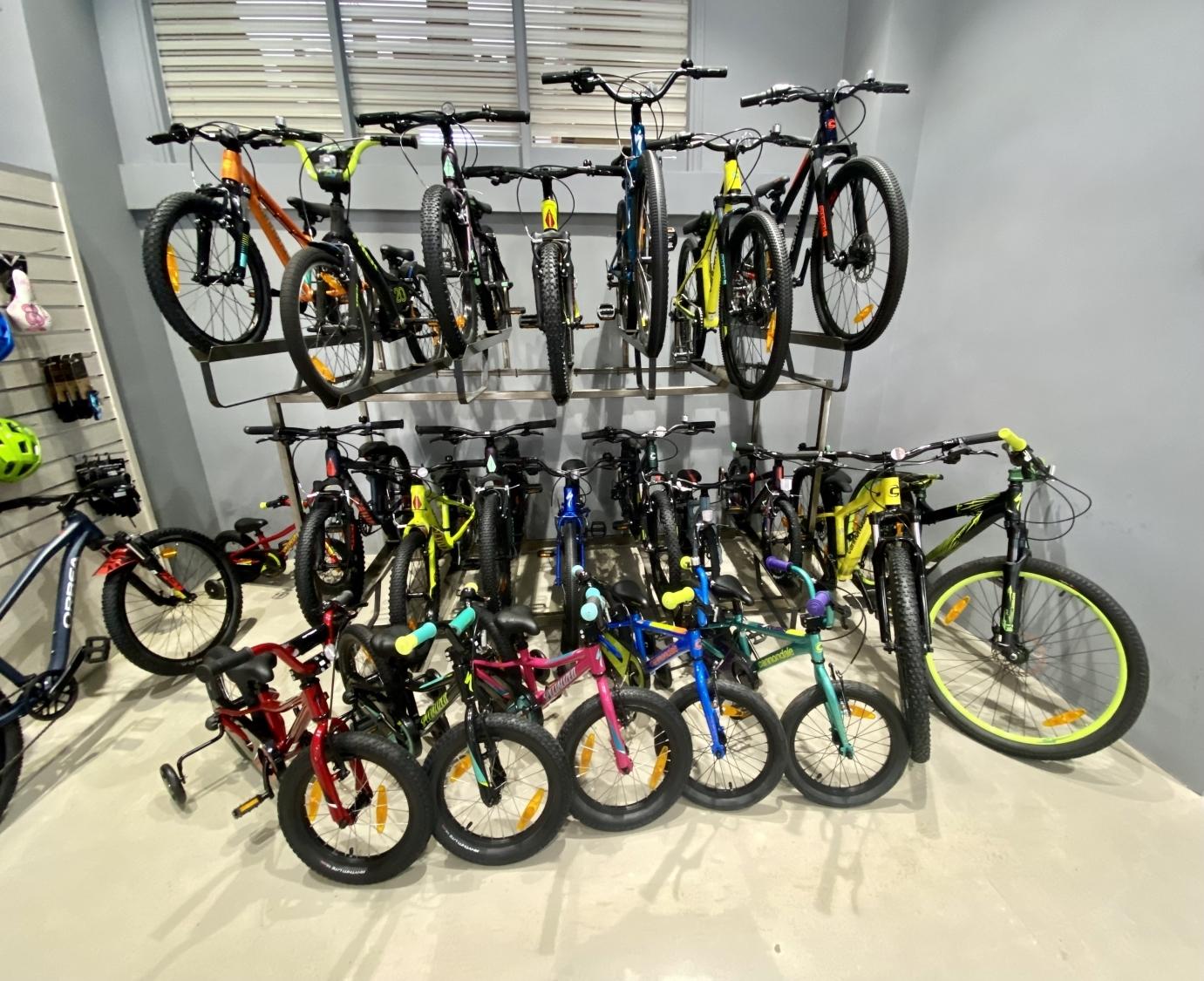 bicicletas demo en palencia