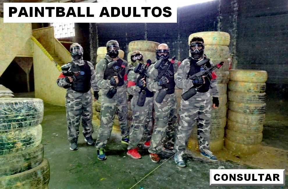 paintball adultos palencia