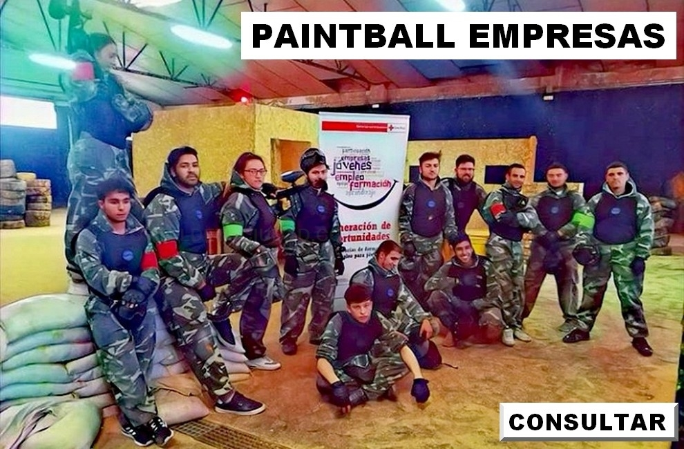 paintball  empresas palencia