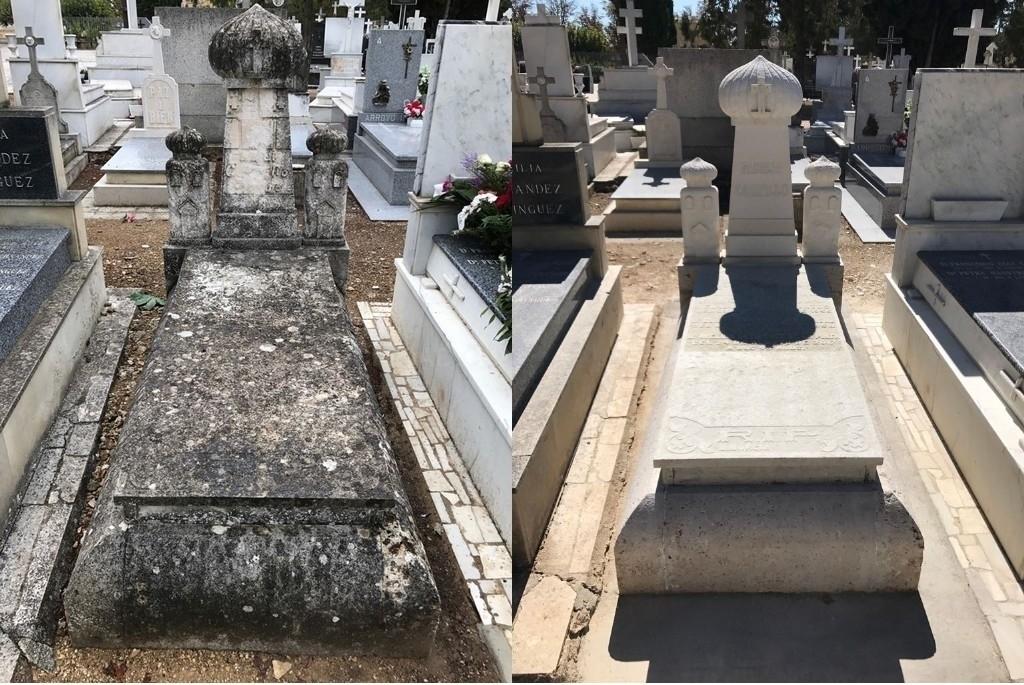 trabajos cementerios palencia