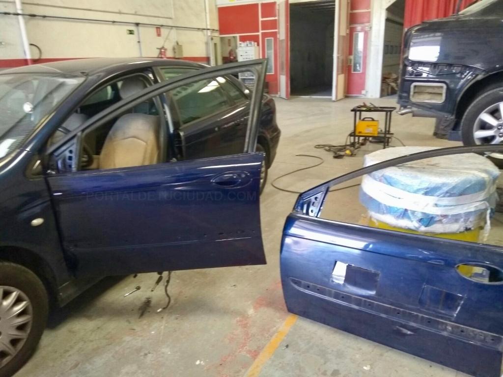taller con vehiculo cortesia palencia