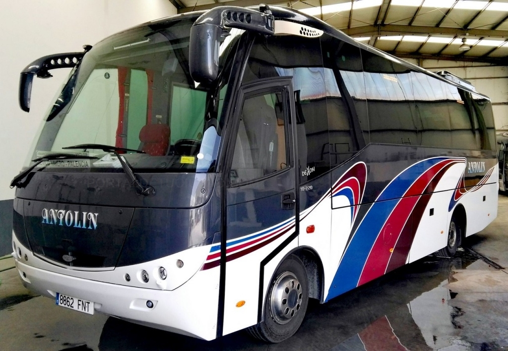 alquiler autobuses en palencia, alquiler microbuses en palencia