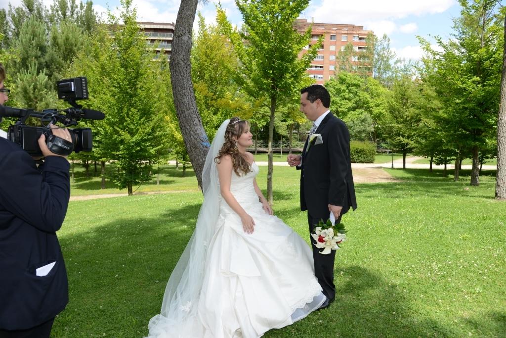 video de bodas con dos camaras palencia