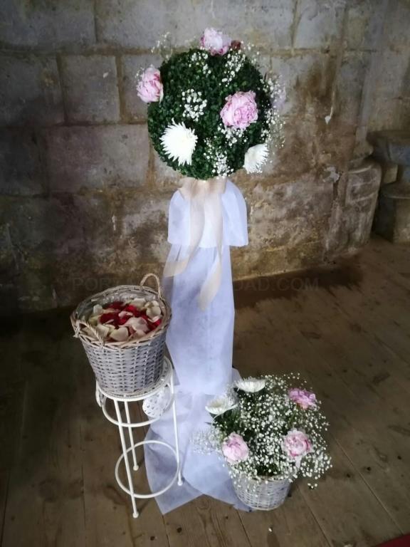 adornos florales palencia