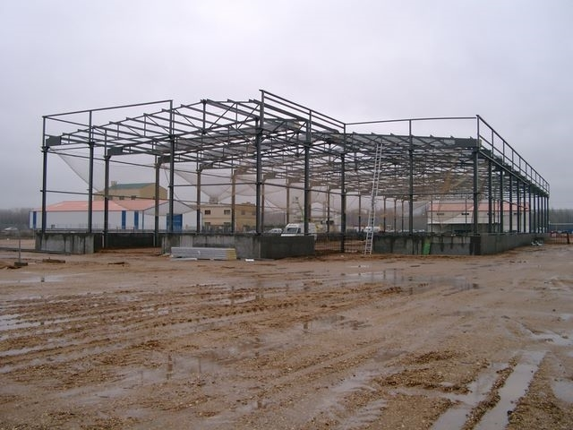 construccion naves metalicas palencia