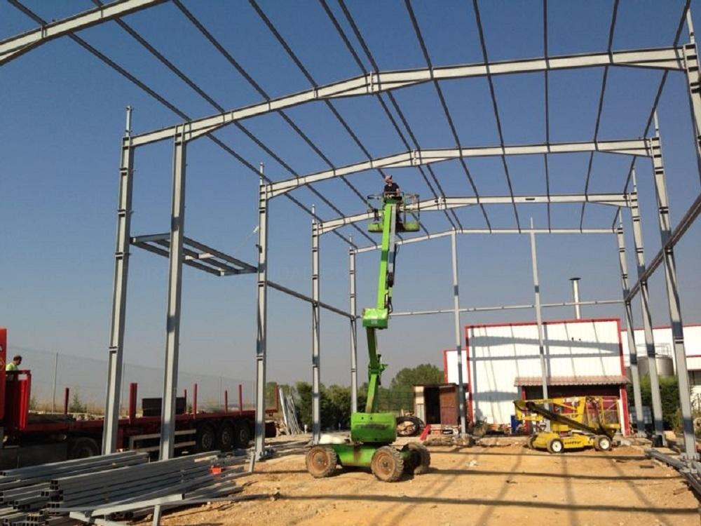 Construcciones y estructuras metalicas