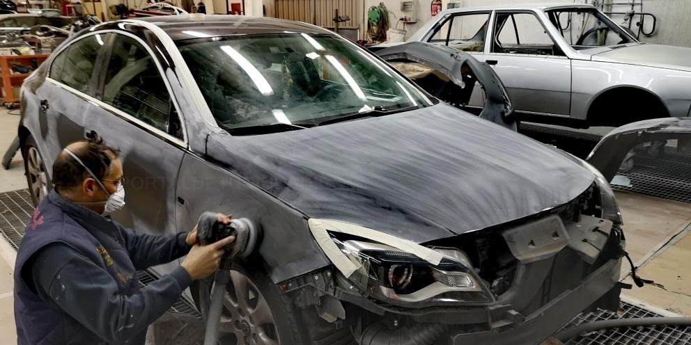 taller chapa con coche sustitucion palencia