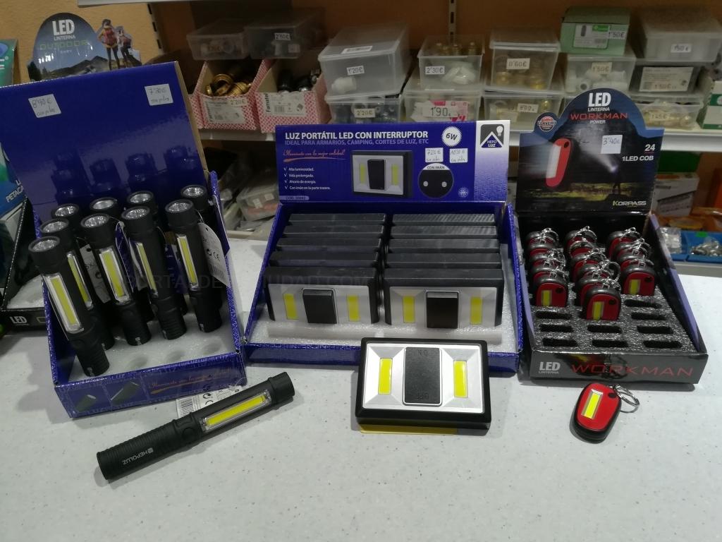 venta materia electricos, bombillas led palencia