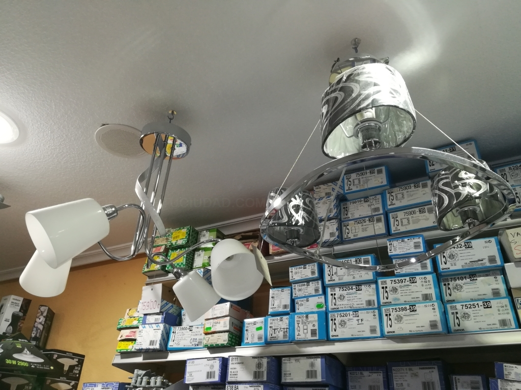 lampara led palencia, downlight palencia