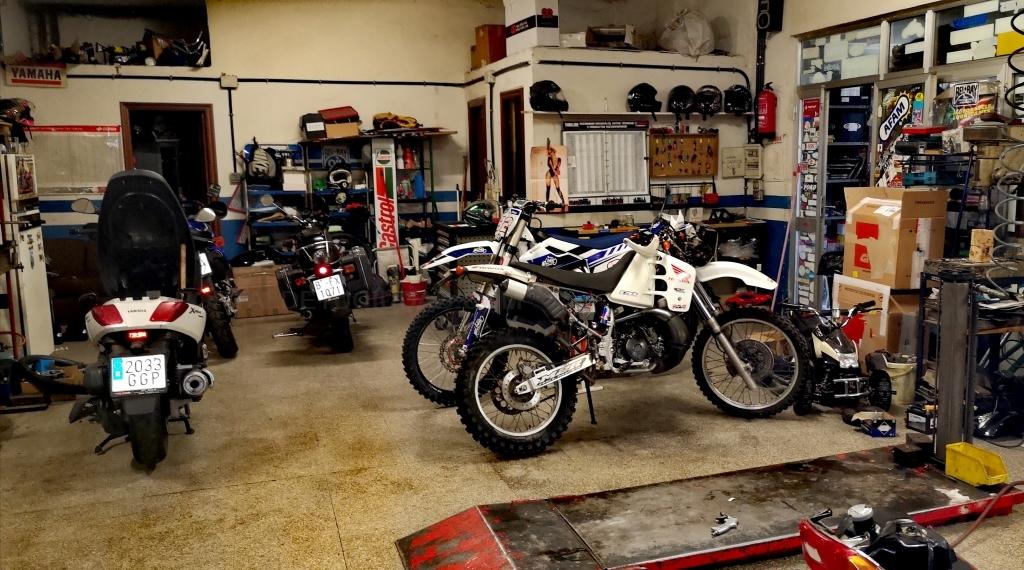 Talleres de motos