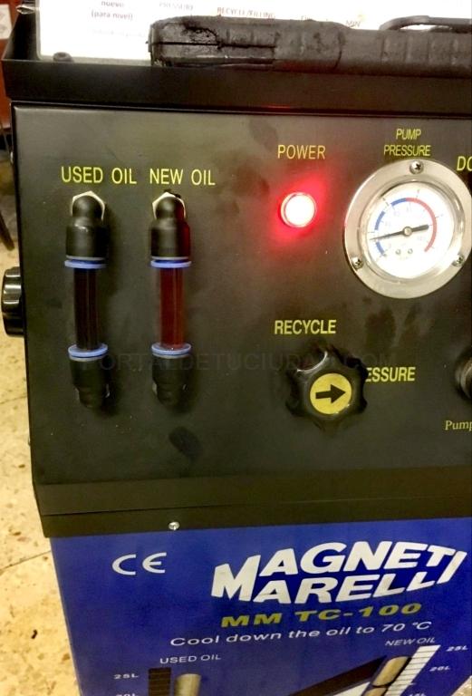 Maquina de limpieza de admisiones palencia