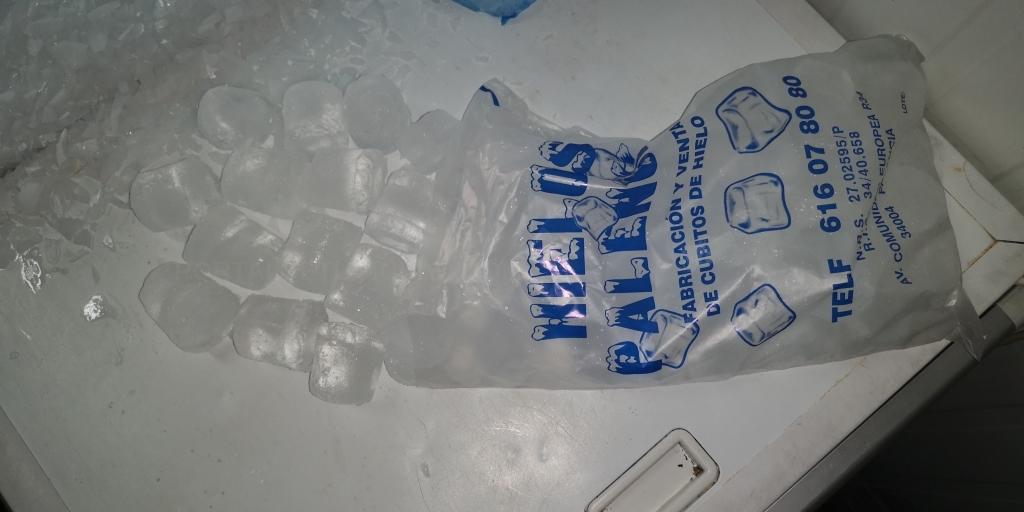 hielos en escama palencia
