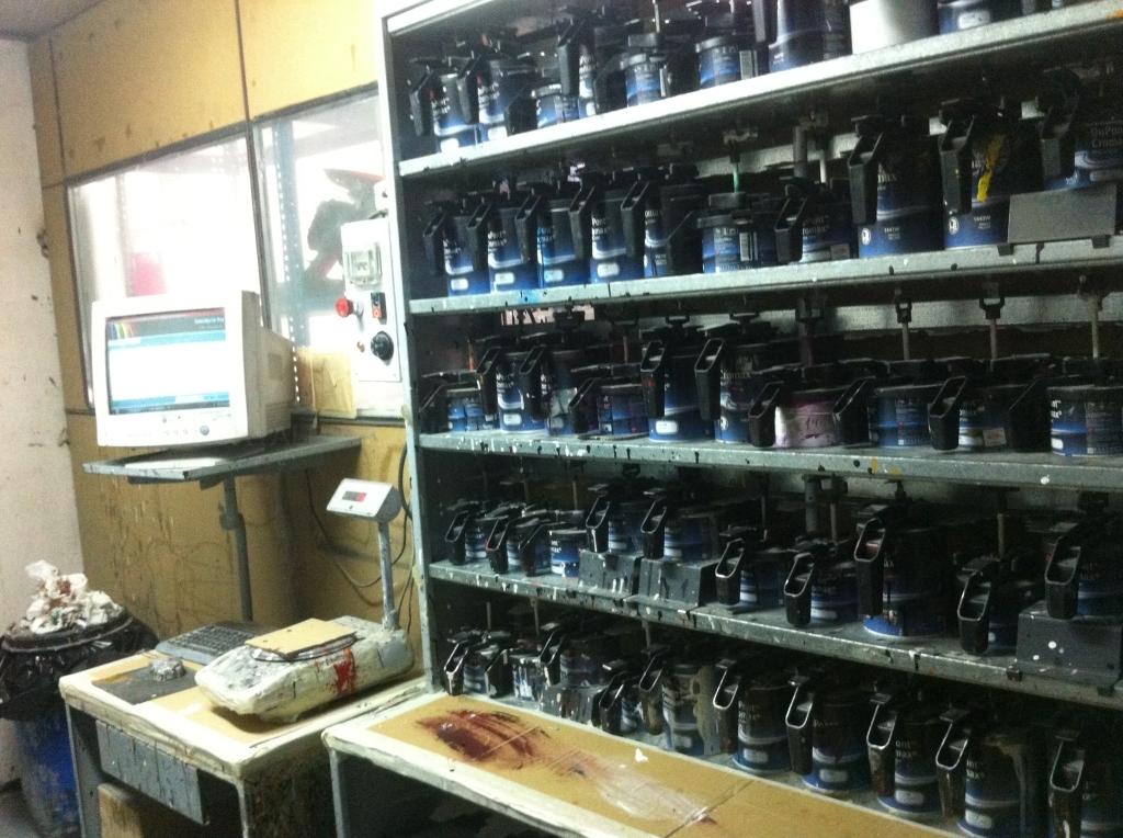cabina de pintado palencia