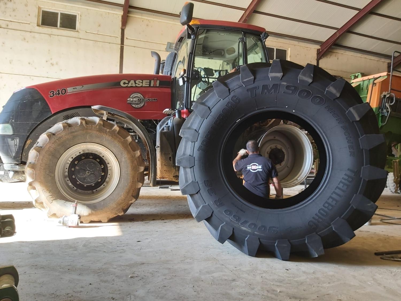Neumáticos para Agricultura en Palencia