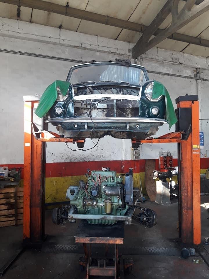 cambiar motor furgoneta palencia
